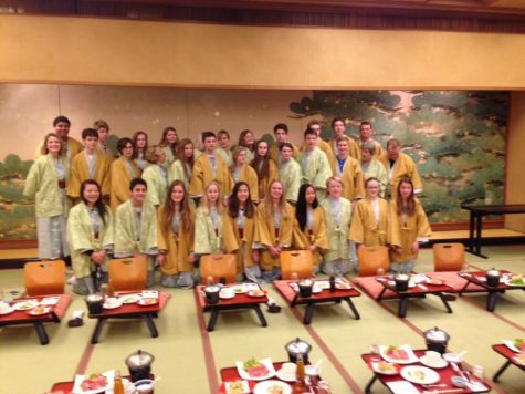 First Ramblers on annual Misato trip enjoy the sister city