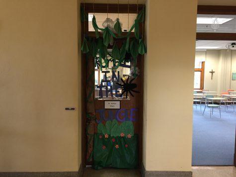 Flexing in the Jungle:  Door decorating winners announced
