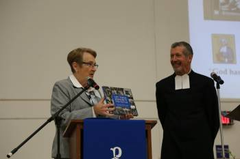 Christian Brothers honored at Founder's Day assembly