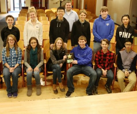 Cotter Mock Trial team enters competition