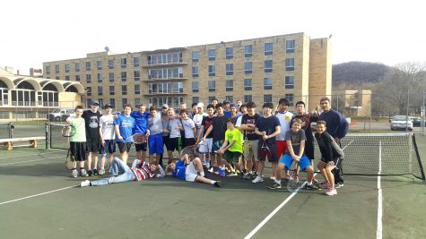 New coaches have high hopes for boy's tennis season
