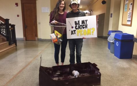 Goin' fishin'…for a prom date!