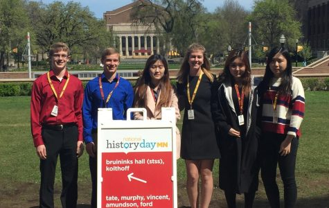 Cotter students compete at History Day at U. of M.