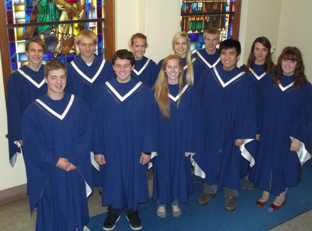All Conference Choir Performs in Wabasha
