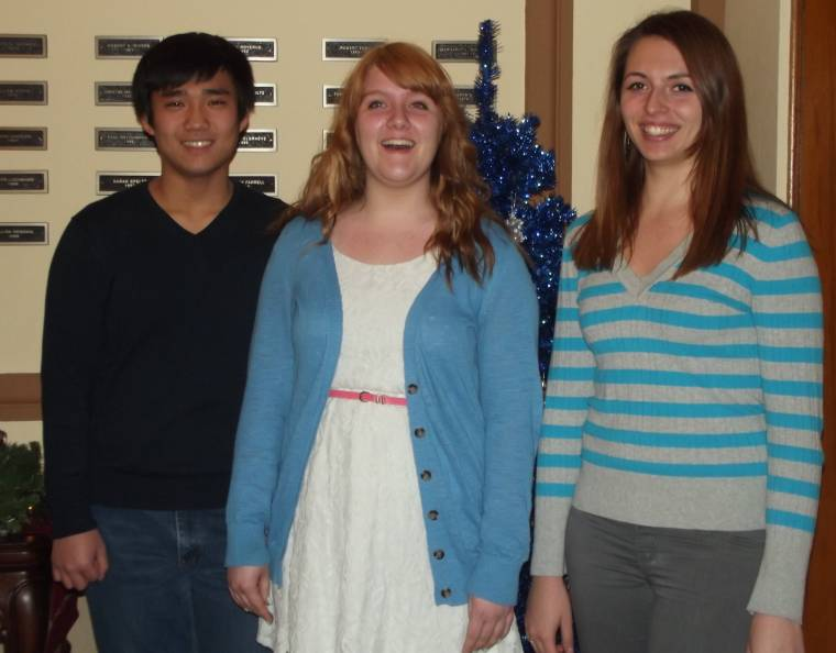 Three Participate in WSU Honor Choir