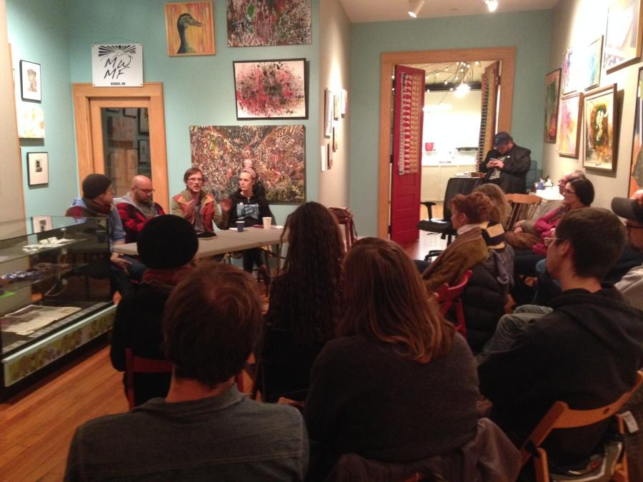 Musicians lead panel at MWMF event