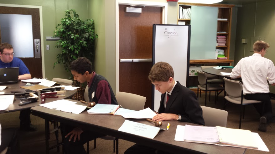 Cotter Students Return to Model Legislature