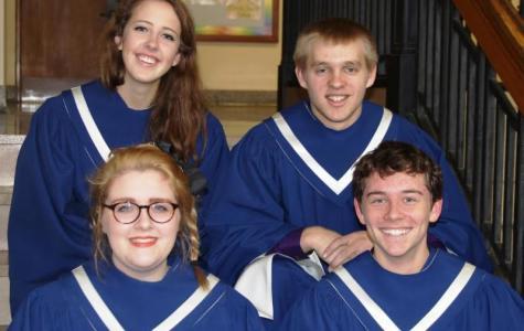 Four Seniors Selected for Dorian Festival