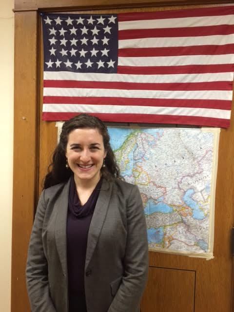 New teacher profile:  Ms. O'Keefe