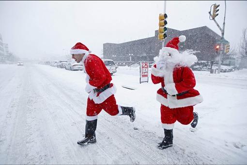Winter Runs Can Be Fun!