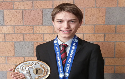 Sophomore Claims State Speech Title