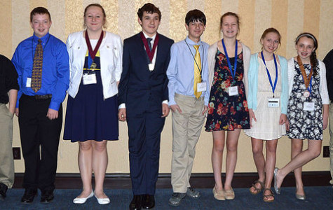 Junior high students advance to State science fair