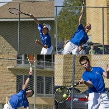 Tennis takes down Logan in tight match
