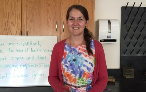 Science teacher presence felt in classroom, dorm and fitness center
