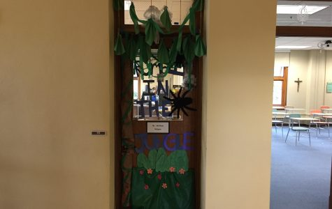 Flexing in the Jungle:  Door decorating winners announced