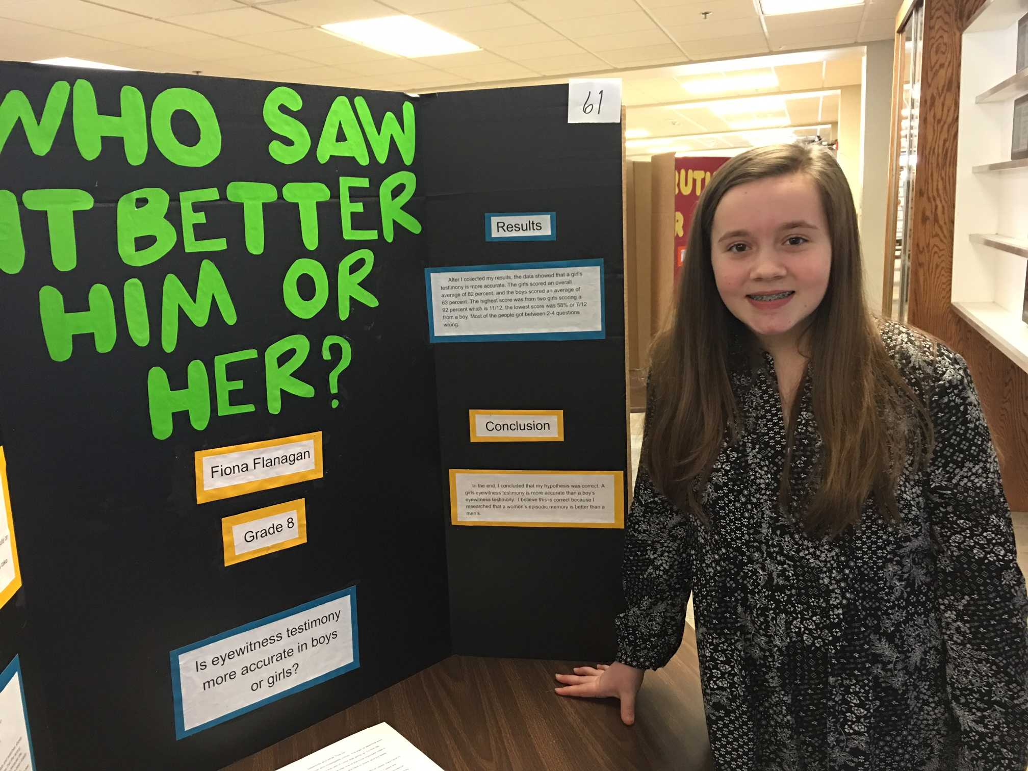 fair science projects question project impress crowd cotternews