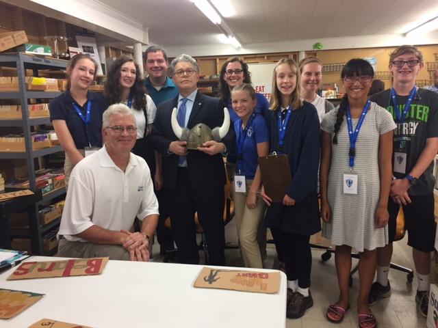 Working so we all do better: an interview with Senator Al Franken