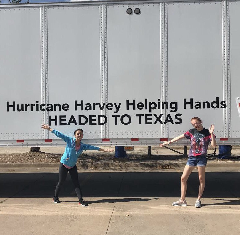 Cotter students volunteer to aid victims of Hurricane Harvey