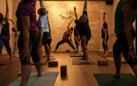 Muddy Waters:  Winona's new yoga studio