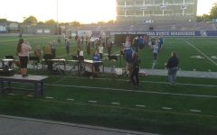 Band prepped for Homecoming field show