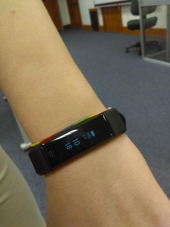 The Amazon smart bracelet