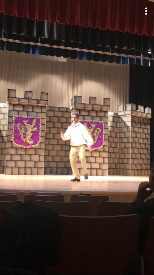 Amazing tap dancing