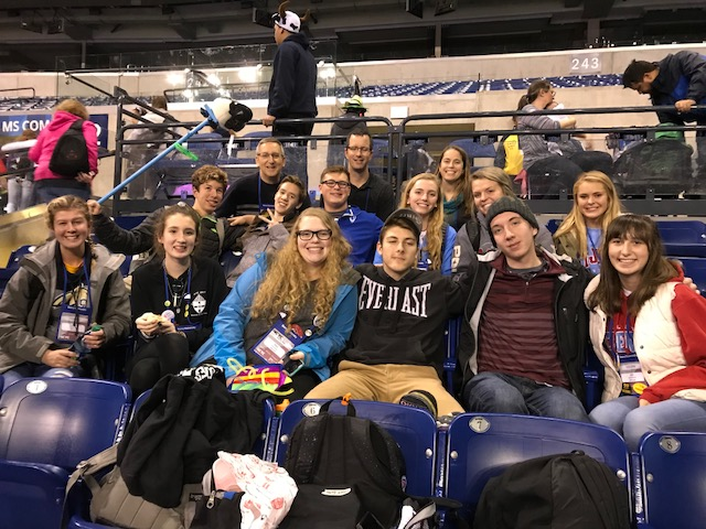 Cotter+group+at+NCYC+in+Indianapolis