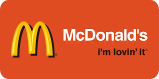 McDonald, I'm lovin' it