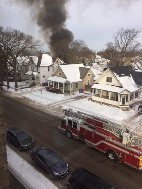 House fire near Cotter leads to early release