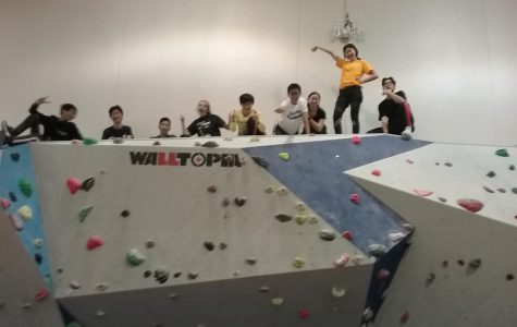 Breaking up break with a climb