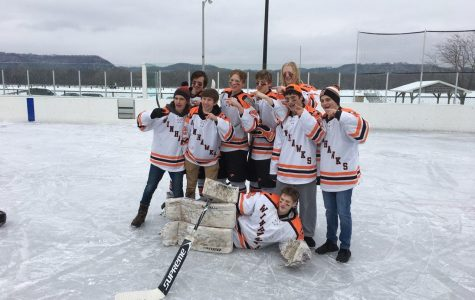King-Henke scores first goal at outdoor game