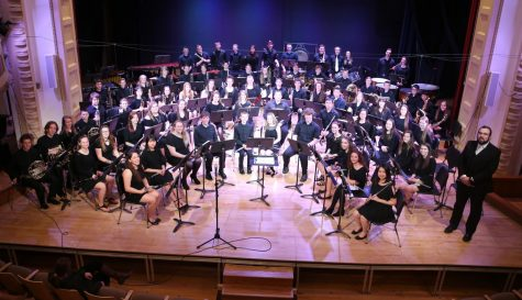 Seniors honored at spring band concert