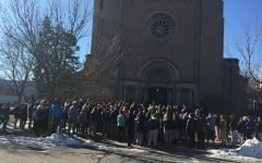 Cotter students participates in 17 minute walk out