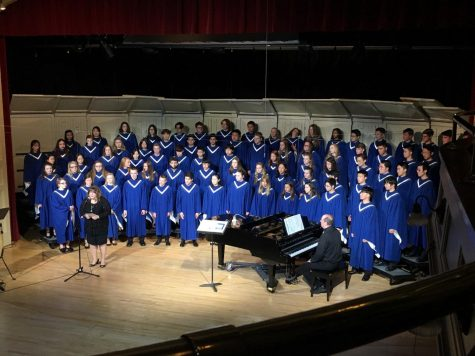 Concert choir rocks the stage
