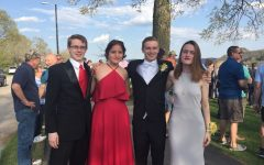 Cotter Chronicle Staff Takes Break at Prom