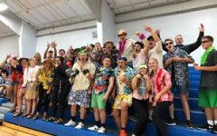 Fan section says Aloha to the Eagles