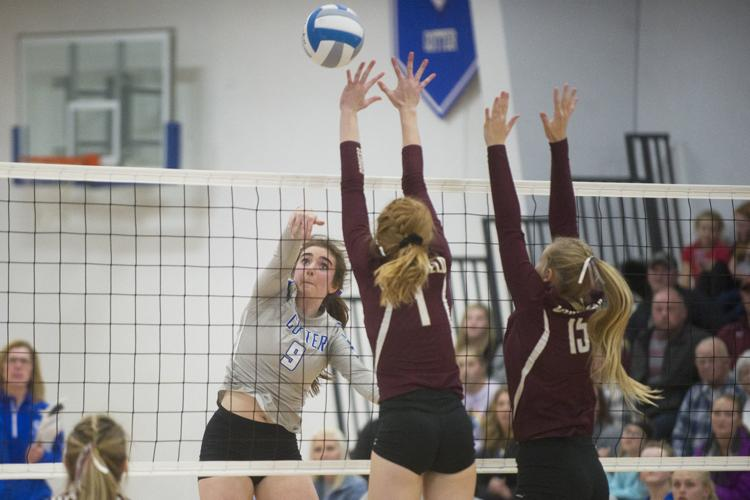 Playoff win and home court advantage highlight volleyball season