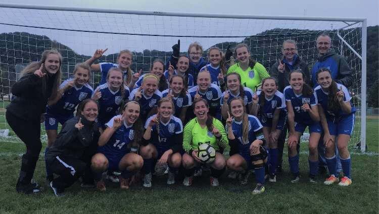 Girls soccer wins conference championship