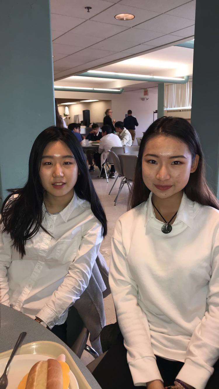 Sarah Sun and Sarah Zhu