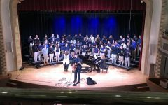 Chris Koza leads Cotter choir in concert