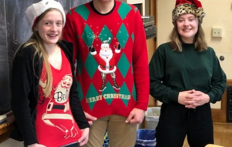 Don be now our Christmas sweaters