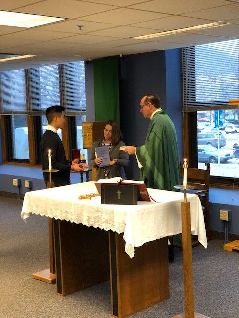 Fr.+Jim%27s+last+mass+in+the+St.+Joseph+chapel.++Photo+by+Talyn+Gilbertson