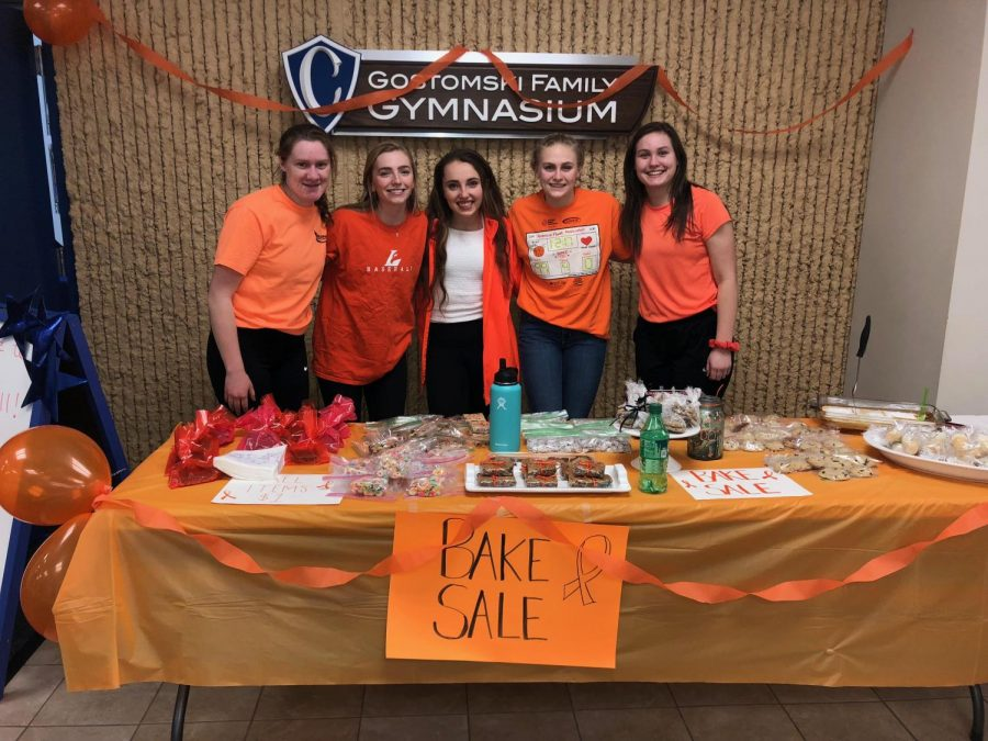Pictured left to right: Ellie MCraith, Ella Reilly, Mary Morgan, Ellie Macal, and Sophia Sandcork.