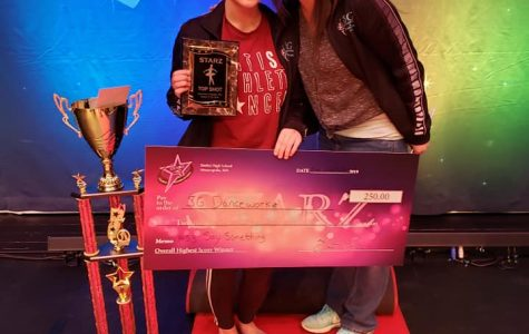 Speltz earns dance awards