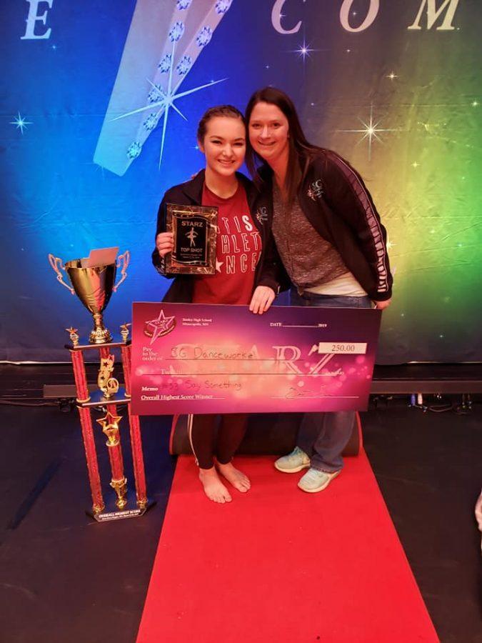 Speltz+earns+dance+awards