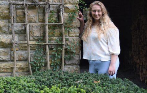 Emily Tullis: working hard to stay balanced