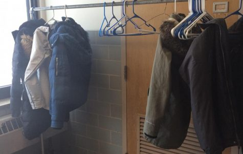 Coats in the hall