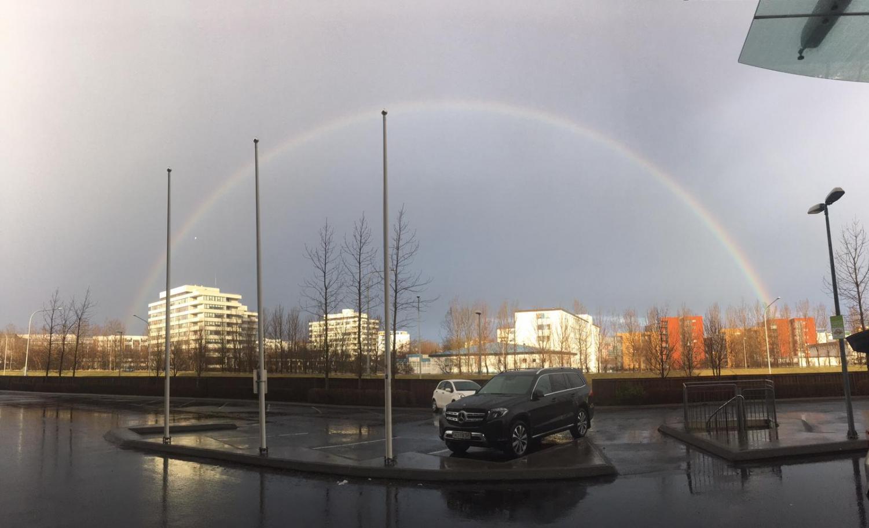 Iceland+rainbow