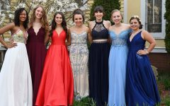 Junior girls before prom