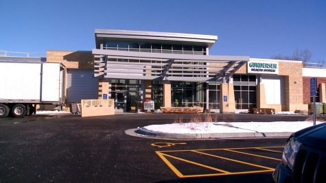 The new Winona Gundersen Clinic on the site of the former K-Mart